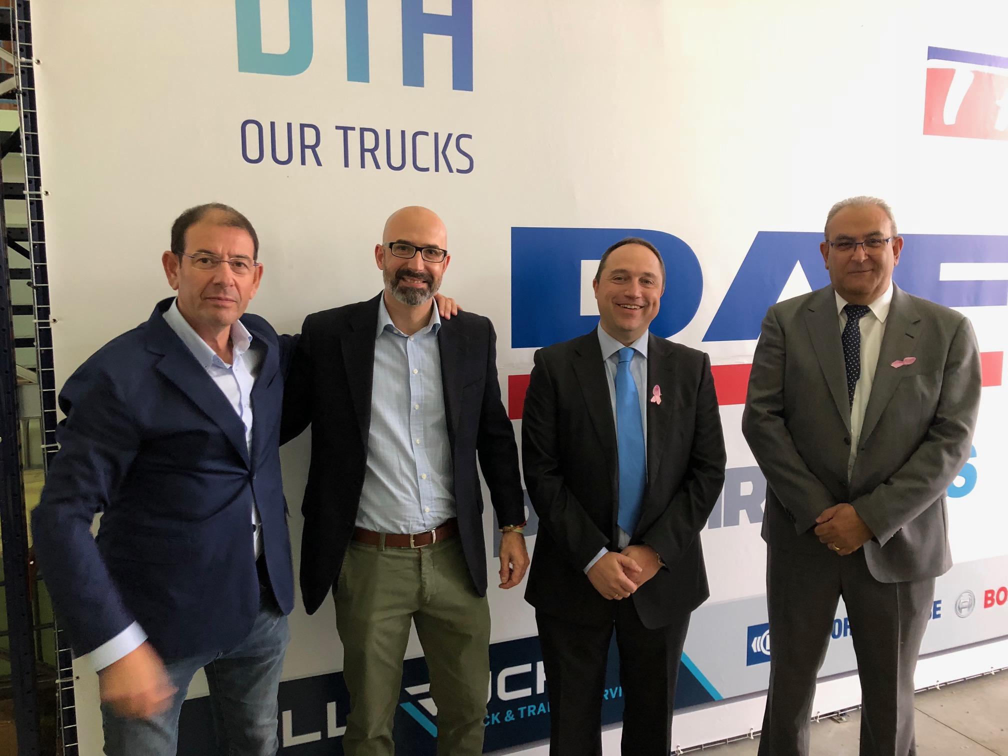DAF inaugura sus nuevas instalaciones en Córdoba y se asocia a ATRADECO