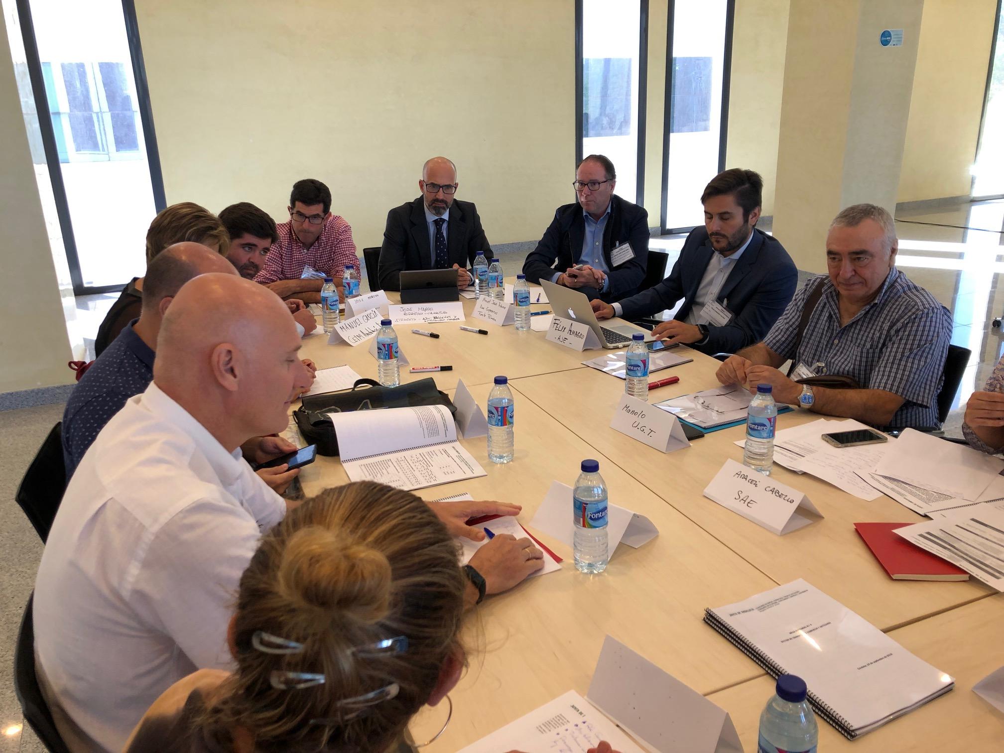 ATRADECO es la voz del taller en las mesas por el empleo y formación convocadas por la Junta de Andalucía