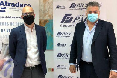 ATRADECO firma un convenio colaboración con GRUPO PACC Correduría de Seguros para apoyar a los asociados en la operativa de sus negocios, a través del asesoramiento y gestión de sus seguros.