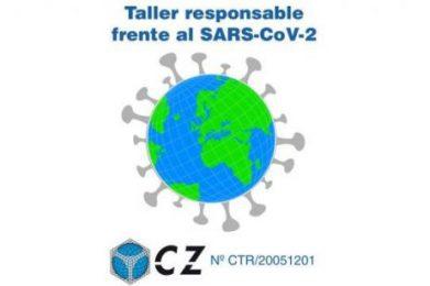 """Centro Zaragoza lanza la marca """"Taller Responsable frente al SARS-CoV-2"""""""