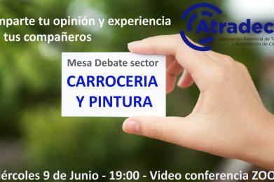 Celebrada ayer la Mesa Debate del Sector de CARROCERÍA y PINTURA